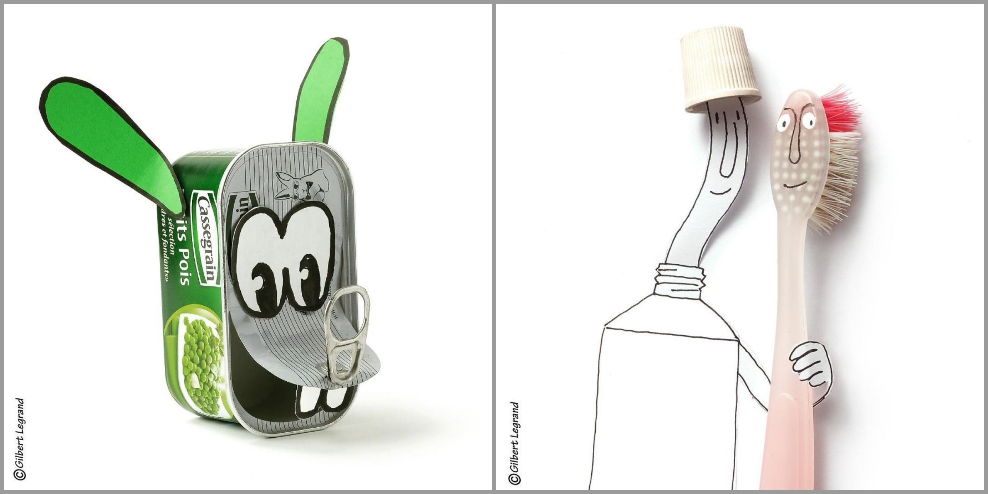 French Artist Brings Everyday Items To Life And It Is Adorable