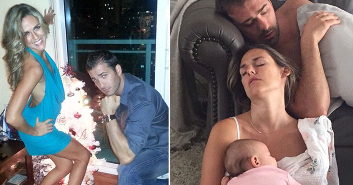 19 Hilarious Photos Of Parents Before And After Having Kids