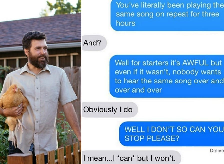 Funny Texts From Bad Neighbors That Will Test Anyone's Limits