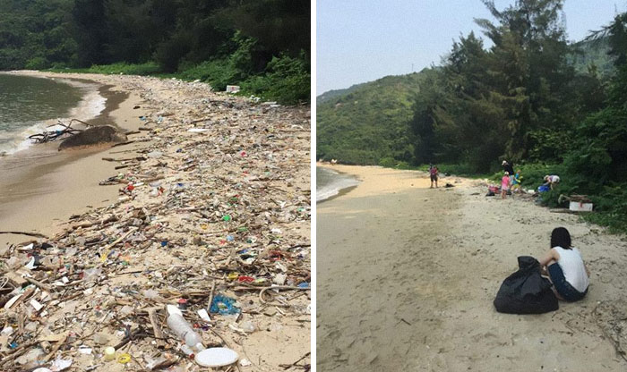 The #TrashTag Challenge Has Gone Viral, Encouraging People to Clean Up Trashed Areas